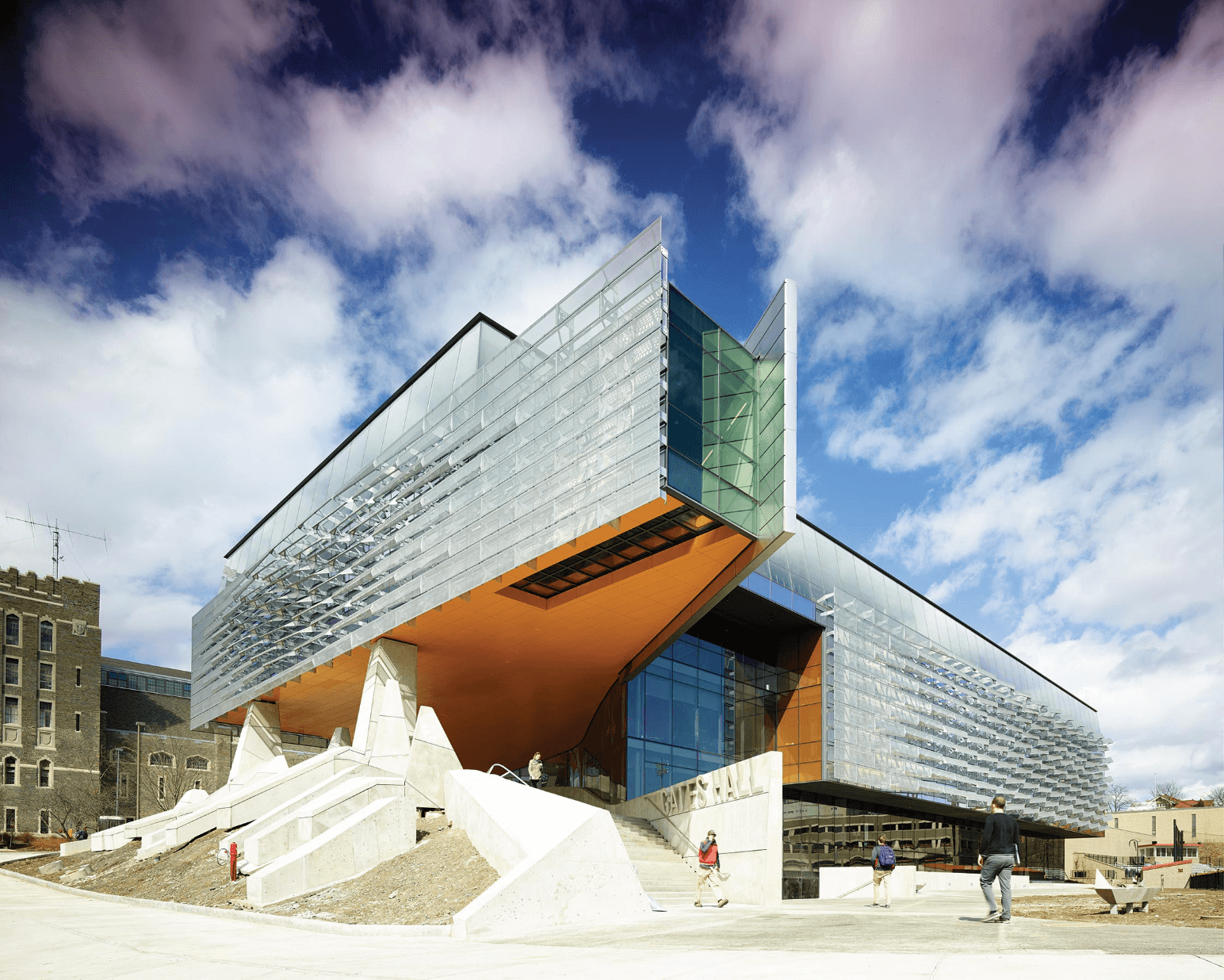 Cornell GatesHall - Viracon Single Source Architectural Glass