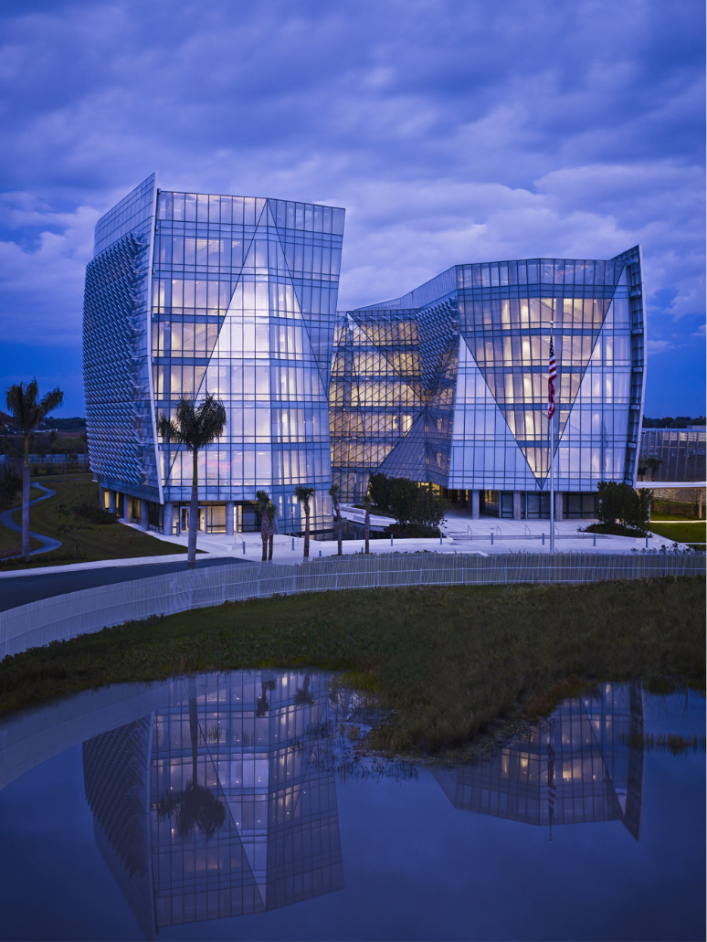 Fed office - Viracon delivers a customized architectural glass solutions