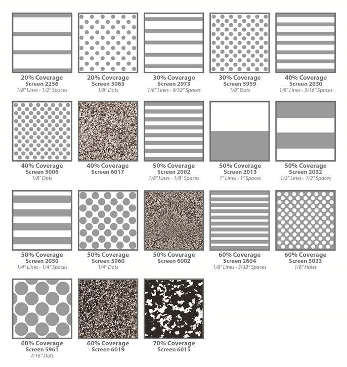 Silkscreen Patterns