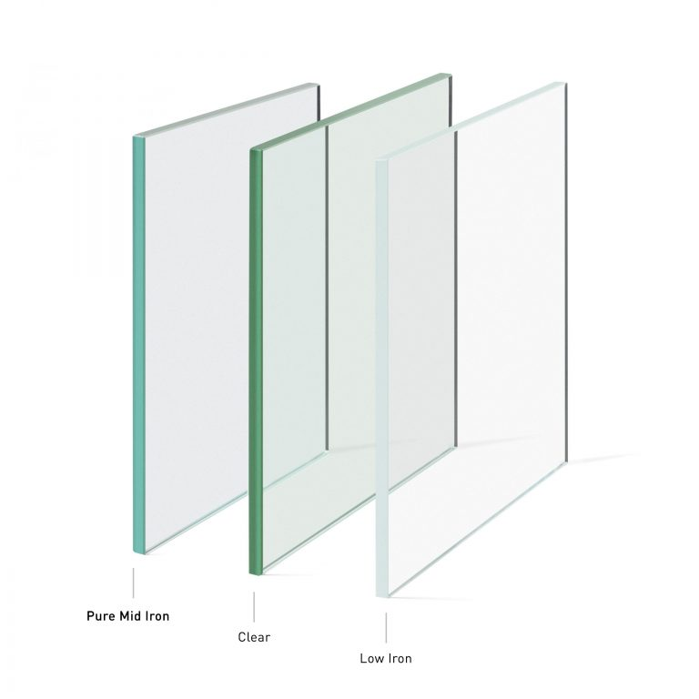 Pure Mid Iron Glass for Buildings