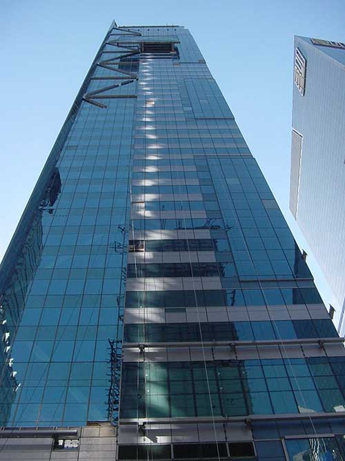 Featured Project New Projects - Building Glass Projects at 1 Times Square and 10 St. James Ave by Viracon